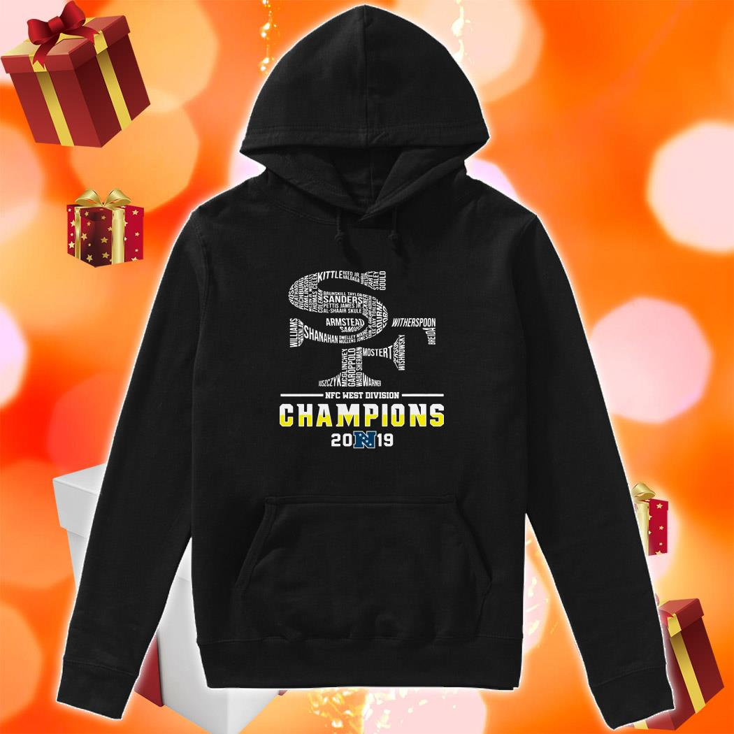 San Francisco 49ers NFC West Division Champions 2019 hoodie