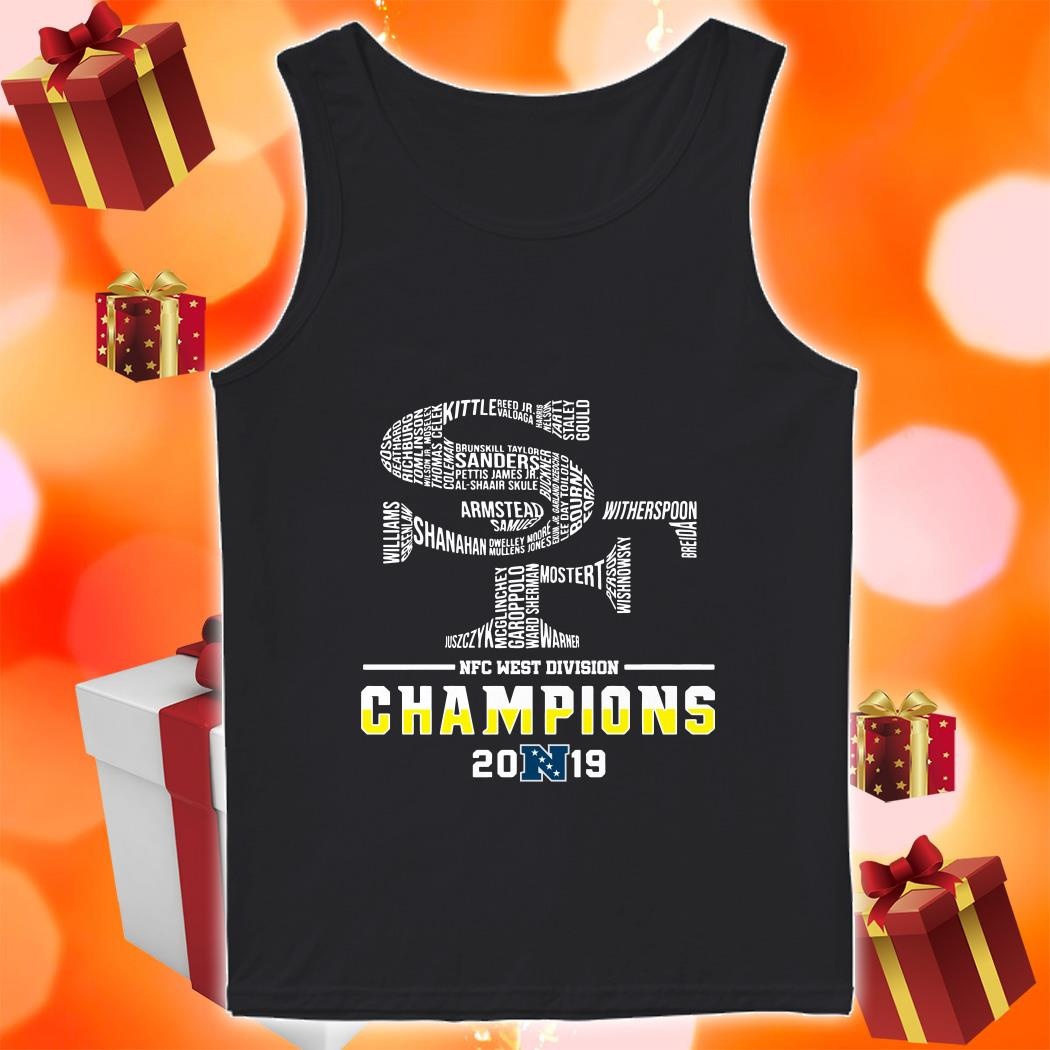 San Francisco 49ers NFC West Division Champions 2019 tank top