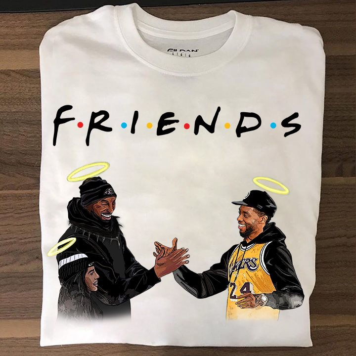 Kobe Bryant and Nipsey Hussle Friends shirt 6 Picturestees Clothing - T Shirt Printing on Demand
